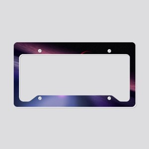 Wormhole travel License Plate Holder