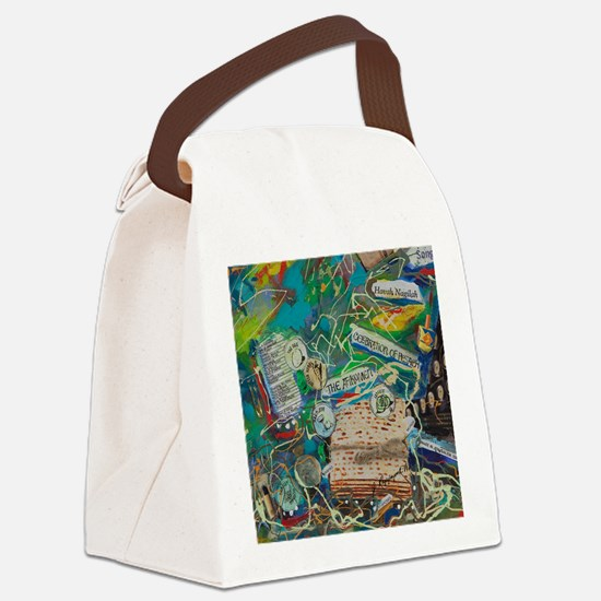 Tile - A Story in My Art - Celebr Canvas Lunch Bag