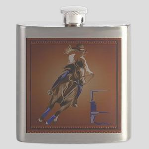 Barrel Horse Flask