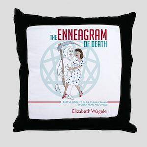 Enneagram of Death 10x10 Throw Pillow