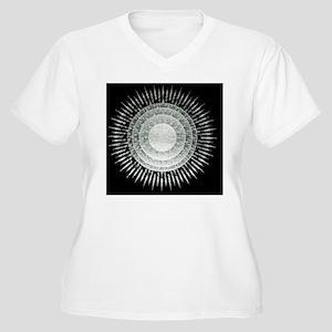 Virus, conceptual Women's Plus Size V-Neck T-Shirt
