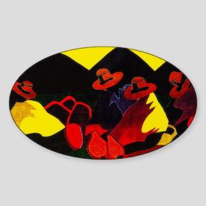 Gran Exito Sticker (Oval)