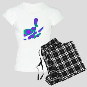 Tuberculosis bacteria, artw Women's Light Pajamas