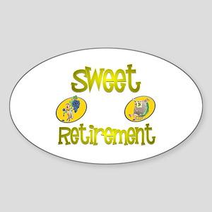 Bug News.:-) Oval Sticker