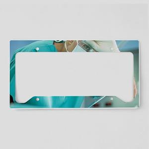 Surgeon License Plate Holder