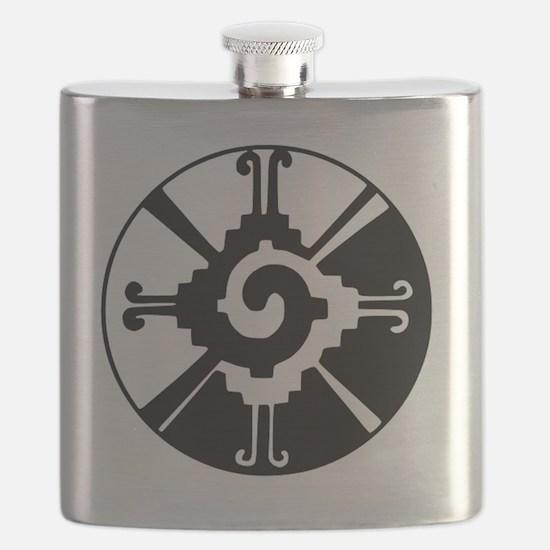 Mayan Hunab Ku Flask