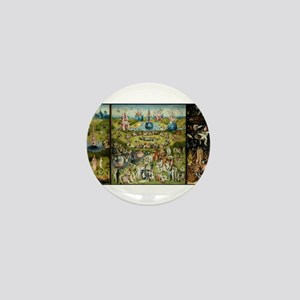 Hieronymus Bosch Garden Of Earthly Del Mini Button