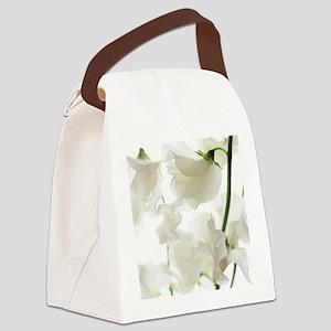 Sweet pea (Lathyrus odoratus) Canvas Lunch Bag