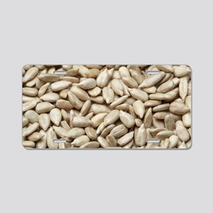 Sunflower seeds Aluminum License Plate