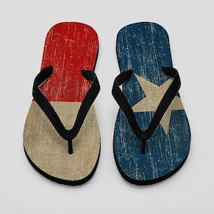 Vintage Texas Flip Flops