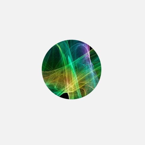 Strange attractor, artwork Mini Button