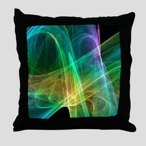 Strange attractor, artwork Throw Pillow