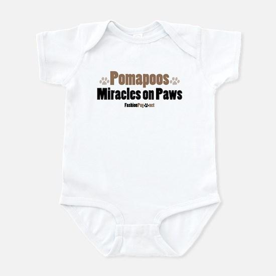 Pomapoo dog Infant Bodysuit