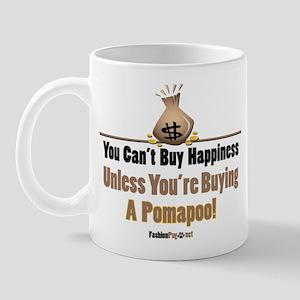 Pomapoo dog Mug