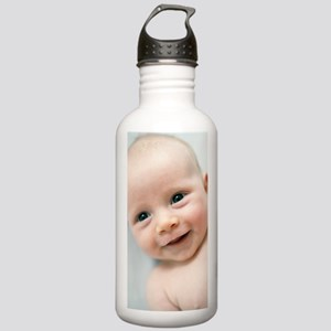 Smiling baby boy Stainless Water Bottle 1.0L