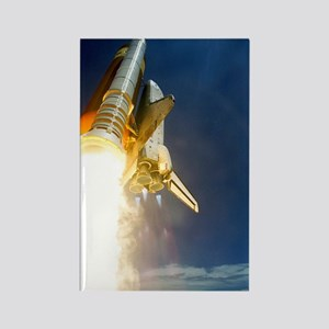 Shuttle mission STS-121 launch, J Rectangle Magnet