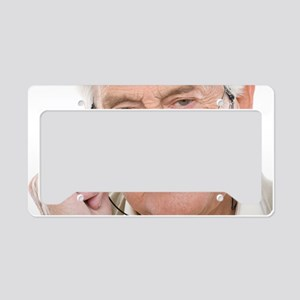 Senior man License Plate Holder