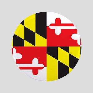 "Maryland Flag 3.5"" Button"