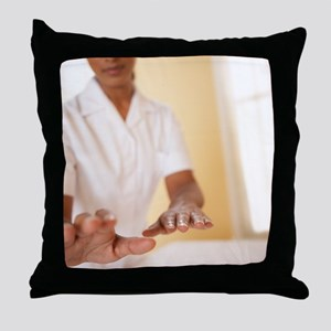 Reiki healing Throw Pillow