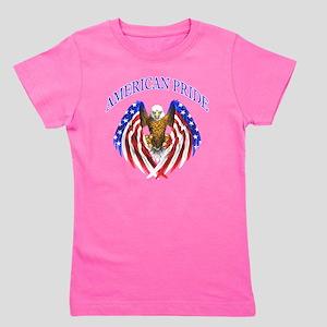 American Pride Eagle Girl's Tee