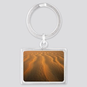 Ripples in sand Landscape Keychain