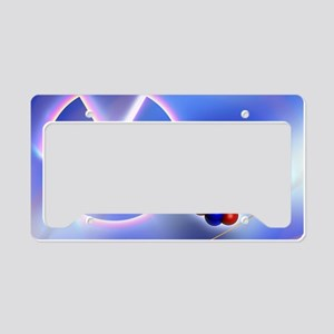 Radiation warning sign License Plate Holder