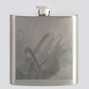 Quartz crystals Flask