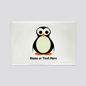 Penguin Personalized Rectangle Magnet