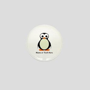 Penguin Personalized Mini Button