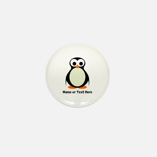 Penguin Personalized Mini Button