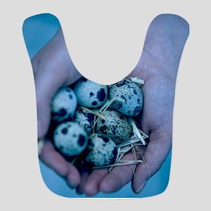 Quail eggs Bib