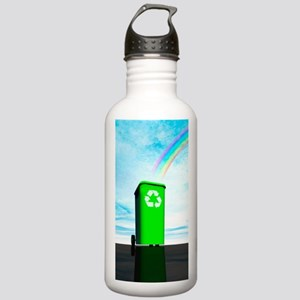 Recycling, artwork Stainless Water Bottle 1.0L