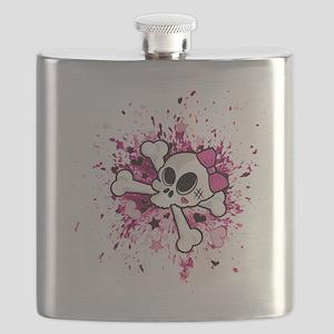Girlie Skull Flask