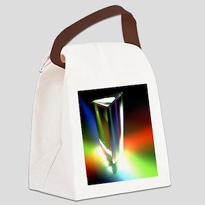Prism, light spectrum Canvas Lunch Bag