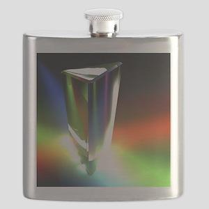 Prism, light spectrum Flask