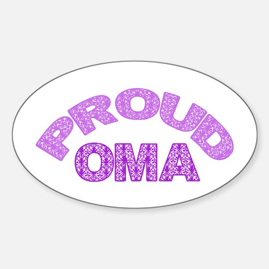 Oma Oval Decal