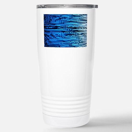 Printed circuit board Stainless Steel Travel Mug