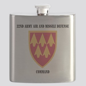 SSI - 32nd Army Air and Missile Defense Comm Flask