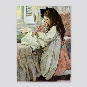SEVEN AGES- Baby Doll 5'x7'Area Rug