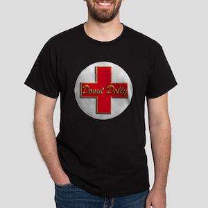 DD white button Dark T-Shirt