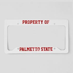 Property of South Carolina License Plate Holder