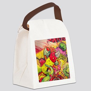 colorbashsmall Canvas Lunch Bag