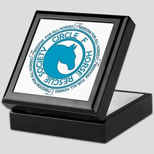 Circle F Horse Rescue Society Keepsake Box