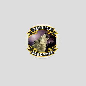 Florida Lone Wolf Pack Logo Mini Button