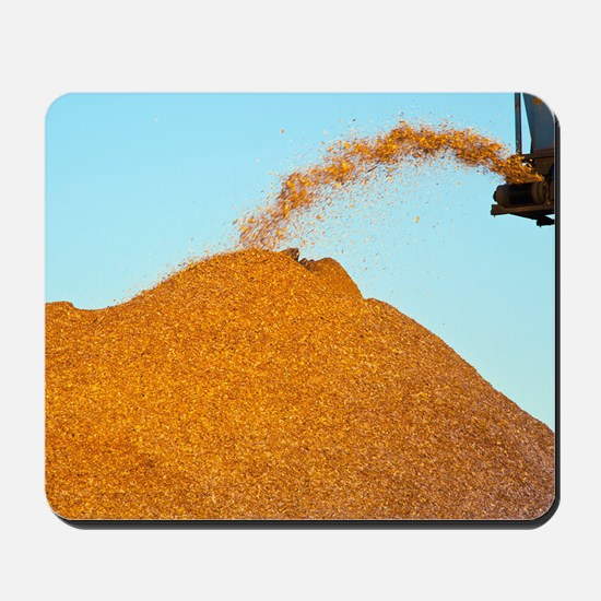 Wood chip production Mousepad