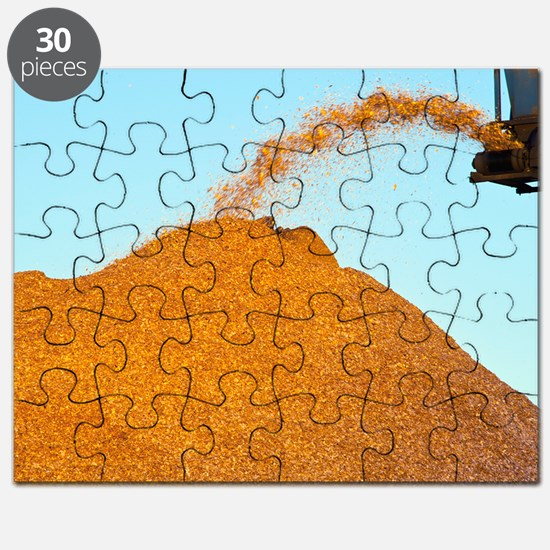 Wood chip production Puzzle