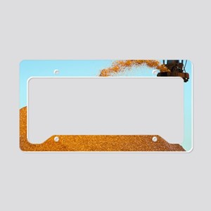 Wood chip production License Plate Holder