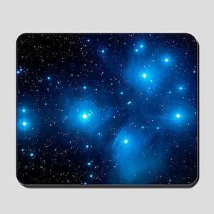 Pleiades star cluster (M45) Mousepad