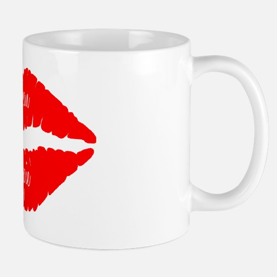Urban Yuppie Red Lips Mug
