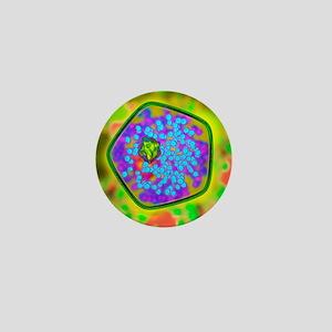 Plant cell, artwork Mini Button